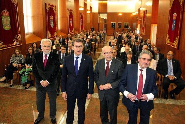 Acto de aniversario del Consello de Contas