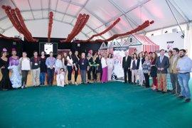 Diputación de Sevilla acoge en su patio la II Feria de Sevillanas y Moda Flamenca de la Provincia
