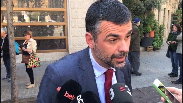 L'conseller de Cultura de la Generalitat, Santi Vila