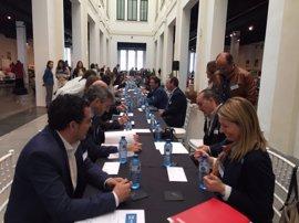 El Club de Emprendedores de Andalucía se presenta con un 'networking' que reúne a 100 empresas malagueñas
