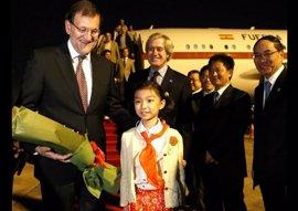 Rajoy se reunirá con el presidente de China en su visita a Pekín en mayo