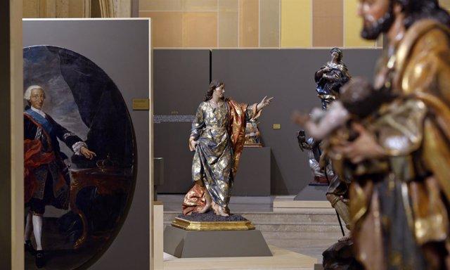 Algunas de las obras que se pueden ver en la exposición