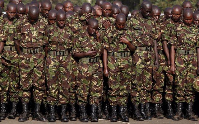 Militares de Kenia