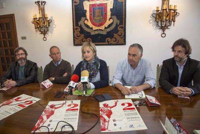 Presentación de la programación de las fiestas en homenaje a Pedro Velarde