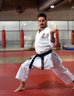 Damián Quintero, karateka espanyol
