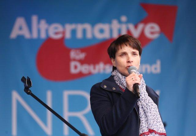 Frauke Petry, líder de AfD