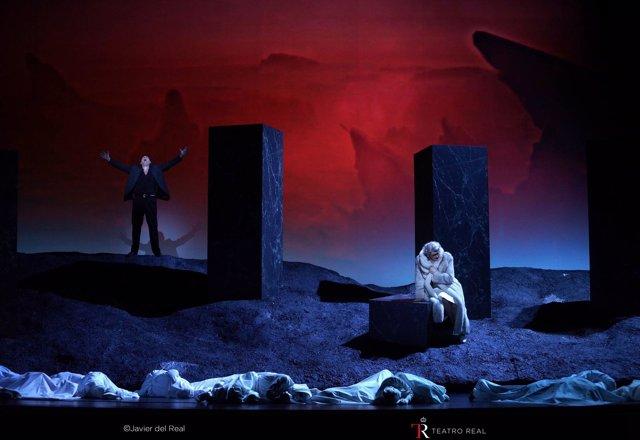 Presentación de Bomarzo en el Teatro Real