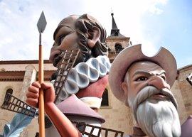 Una falla en Alcalá de Henares para homenajear a Cervantes
