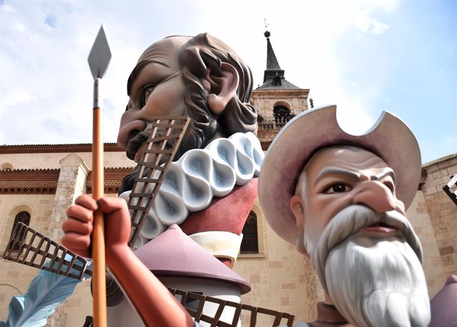 Alcalá De Henares: Una Falla Cervantina Para Despedir El Centenario