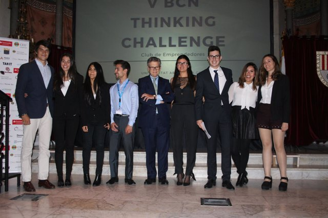 Equipo ganador del V BCN Thinking Challenge