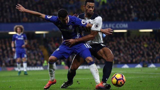 Pedro en el Chelsea - Tottenham