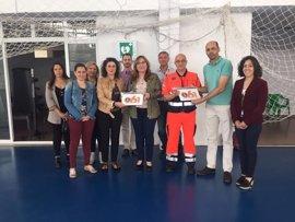 Salud reconoce como 'zonas cardioaseguradas' al Estadio Francisco Losada y al polideportivo de Hornachuelos (Córdoba)