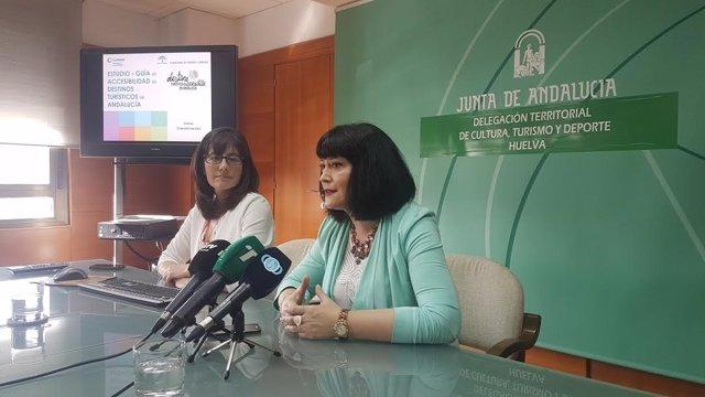 La delegada de Turismo, Carmen Solana.