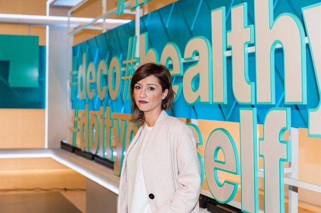 La presentadora Laura Martínez
