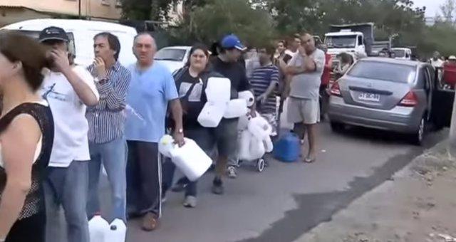 Santiago de Chile se queda sin agua potable