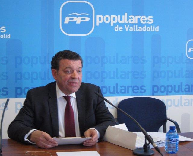 El presidente del Comité Organizador del XIV Congreso del PP