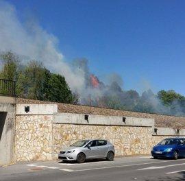 Baja a nivel 1 el fuego de Cabrerizos (Salamanca)