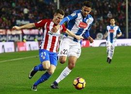 El Atlético mide al posible 'euro' Espanyol