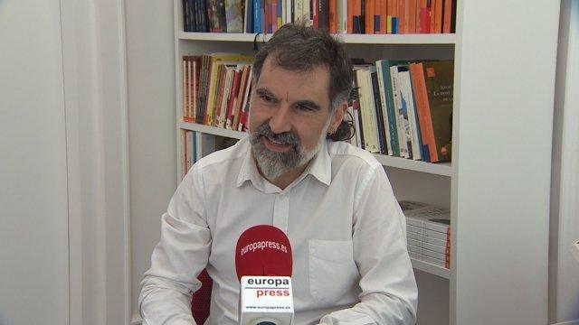 President d'Òmnium Cultura, Jordi Cuixart
