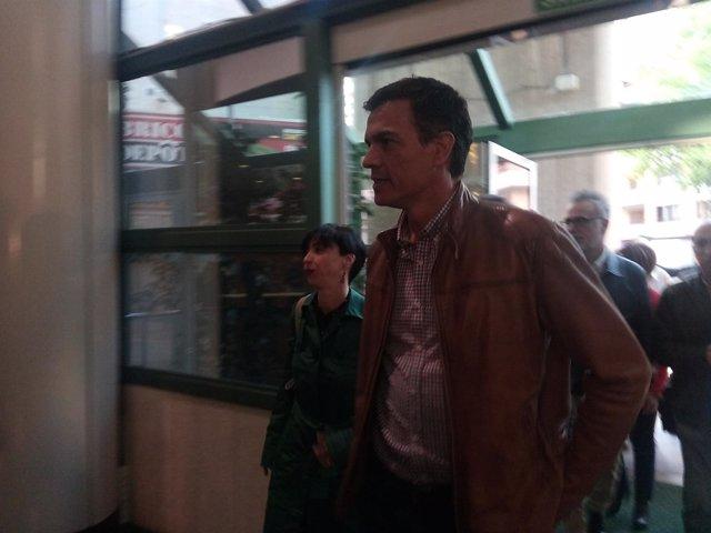 Pedro Sánchez en Palma de Mallorca