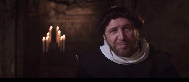 El actor valenciano da vida al santo en el proyecto