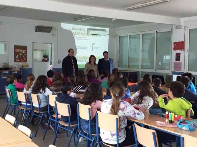 Taller sobre cambio climático en la provincia de Jaén