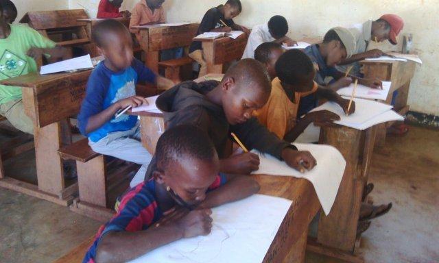 Niños de Karatu (Tanzania)