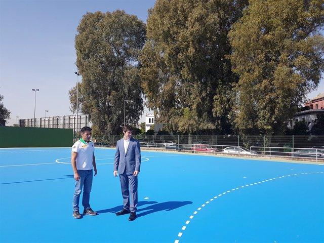 El IMD culmina inversiones en distintas instalaciones deportivas de Sevilla