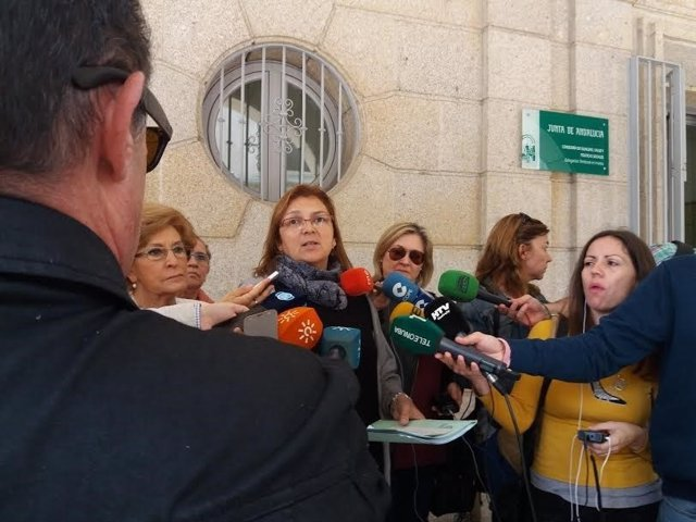 La portavoz de la Asociación 'Huelva, por una sanidad digna', Paloma Hergueta.