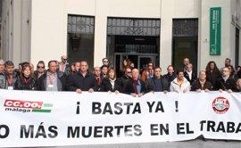 33 trabajadores mueren en el tajo en Andalucía hasta abril, cuatro más que en 2016, según UGT-A