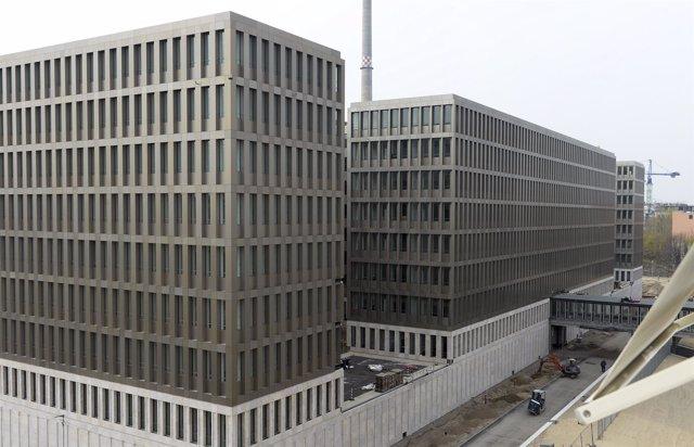La nueva sede del servicio de Inteligencia alemán, la BND