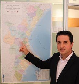 La coalición denuncia que el mapa no está regido por la legislación