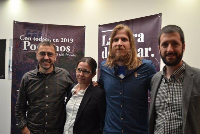 Valladolid. Presentación de la candidatura 'Con tod@s, en 2019 Podemos'