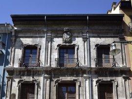 """UPN insta al Gobierno foral a """"adecentar"""" la fachada del Palacio del Marqués de Rozalejo"""