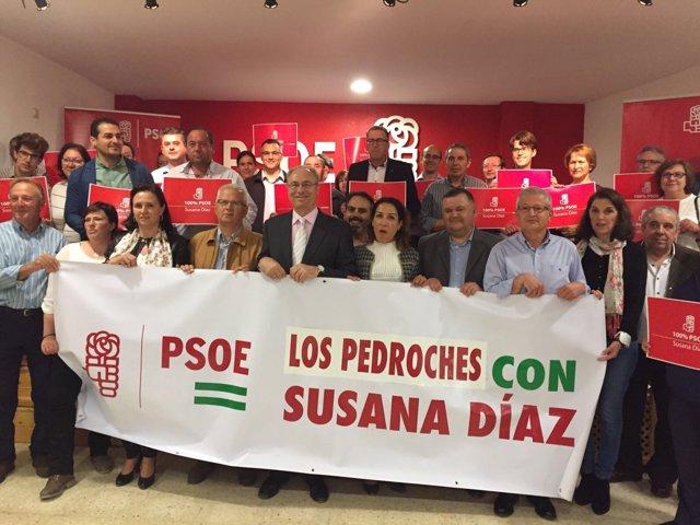 Grupo de apoyo a Susana Díaz en Los Pedroches (Córdoba)
