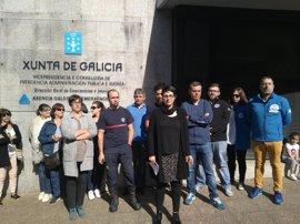 """Representantes del comité del 112 aseguran que la central está """"colapsada"""" y denuncian """"acoso"""" por parte de la Xunta"""