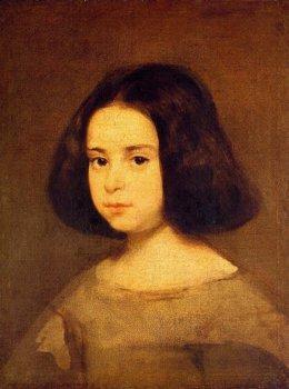 Retrato de una niña, de Diego de Velázquez