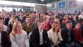 """Susana Díaz reivindica al Corredor frente los """"caprichitos"""" del Gobierno"""