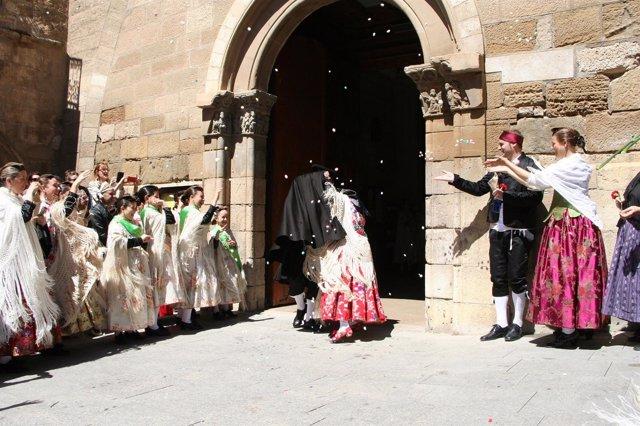 Día de la Faldeta en Fraga.