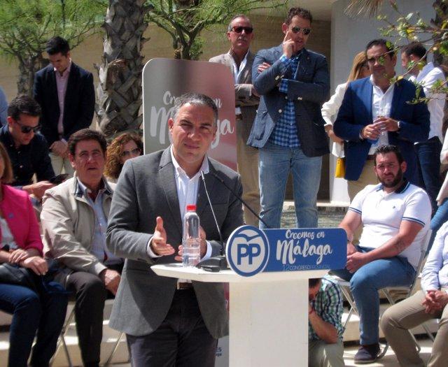 Elías Benodo, PP de Málaga, PP-A