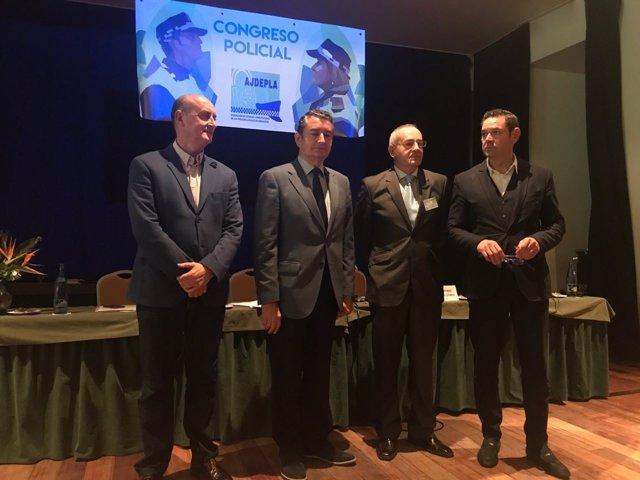 El delegado del Gobierno en Andalucía, en la clausura del XV Congreso de Ajdepla