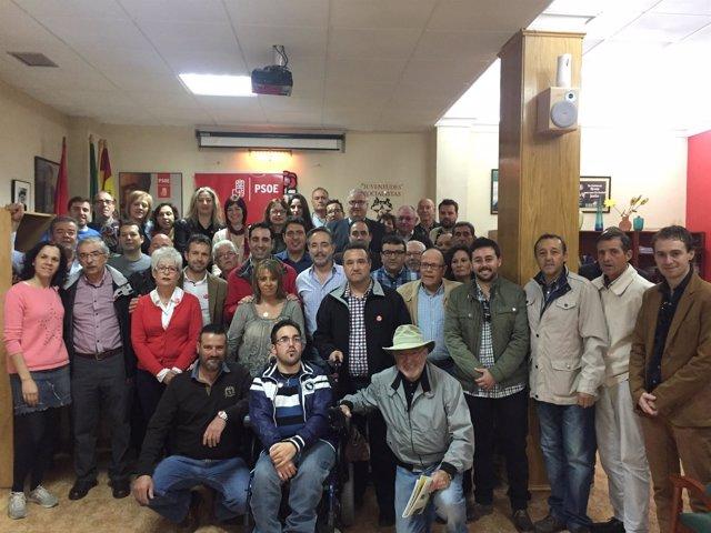 Presentación de grupo de apoyo a Susana Díaz en Alcalá la Real (Jaén)