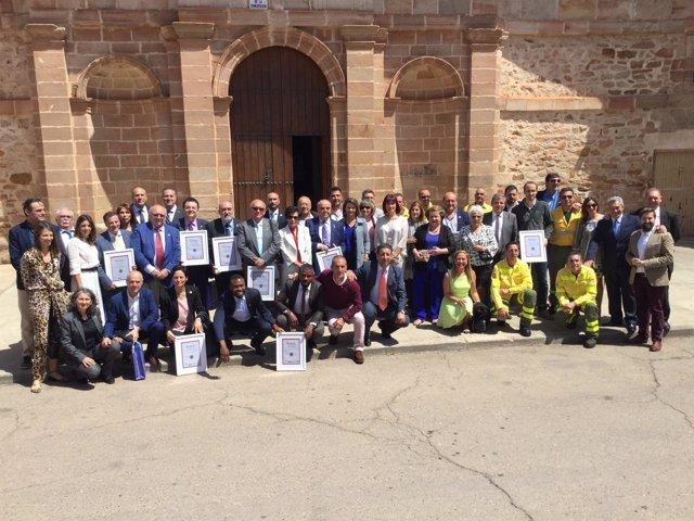 Nota De La Junta Y Fotos Cobo En Los Premios Corazón De Olavidia