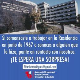 El Hospital General de Castellón busca a sus trabajadores de 1967