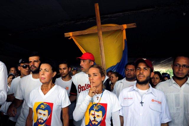 Protesta en Caracas contra Maduro - Marcha del silencio