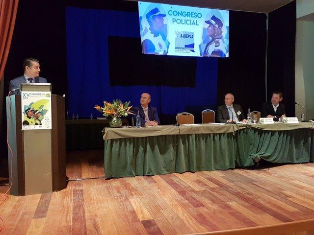 Clausura del Congreso de Ajdepla en Islantilla (Huelva)