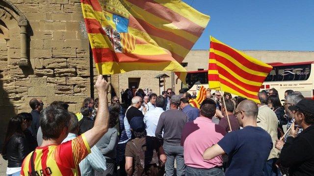CHA celebra en Sijena el Día de Aragón.