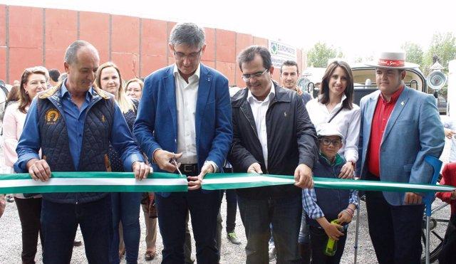 Inauguración de Encuentro de Caballistas en Adra (Almería)