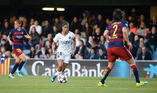 El PSG vence al Barcelona en la Champions femenina