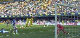 Bakambu remata con la mano al Leganés y el Sporting rescata un punto ante Osasuna